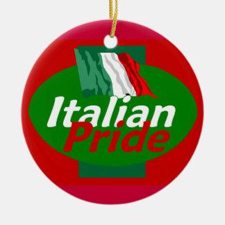 Italian Pride Ornament
