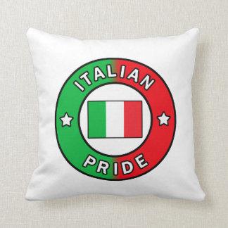 Italian Pride pillow