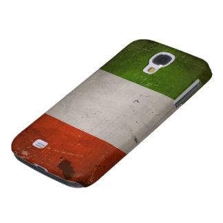 Italian Pride Vintage Grungy Italy Flag Samsung Galaxy S4 Cases