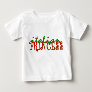 Italian Princess Baby T-Shirt