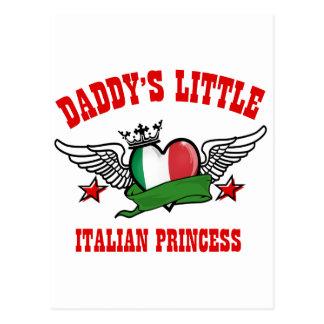 italian Princess Designs Postcard