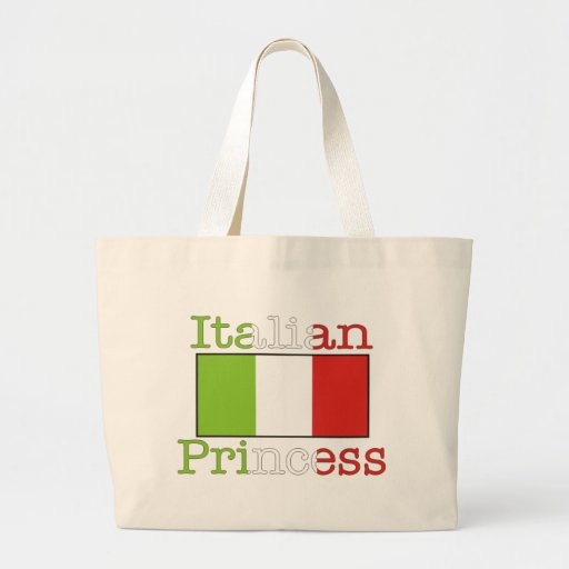 Italian Princess Jumbo Tote Bag