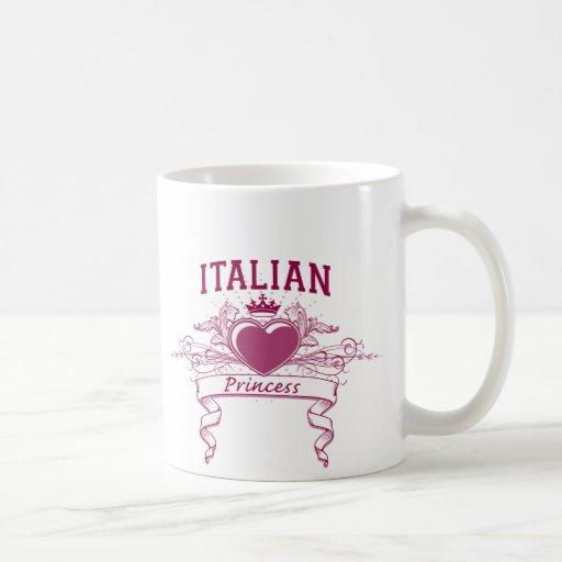 Italian Princess Mugs