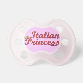 Italian Princess Pink Pacifier