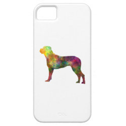 Italian Privateering Dog 01 in watercolor 2 iPhone SE/5/5s Case