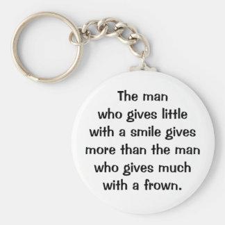 Italian Proverb Keychain No. 151
