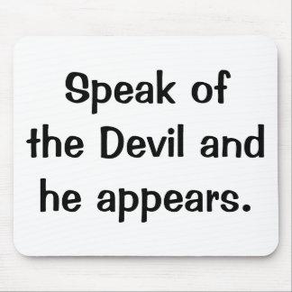 Italian Proverb Mousepad No 143