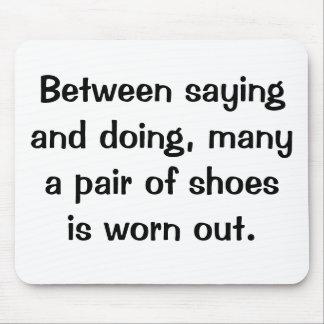 Italian Proverb Mousepad No 18