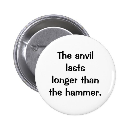Italian Proverb No.149 Button