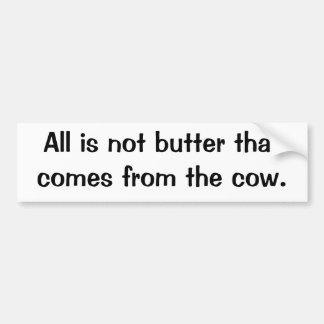 Italian Proverb No.14 Bumper Sticker
