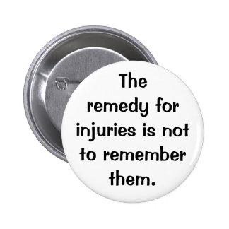 Italian Proverb No.168 Button