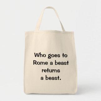 Italian Proverb No.210 Bag