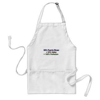 Italian puertorican adult apron
