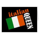 Italian Queen & Flag Cards