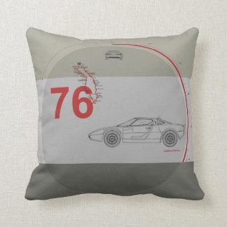 Italian Racing Throw Pillow