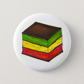 Italian Rainbow Seven 7 Layer Cookie Foodie Button