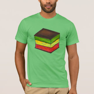 Italian Rainbow (Seven Layer) Cookie Xmas T-Shirt