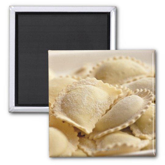 italian ravioli 2 inch square magnet