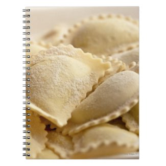 italian ravioli notebook