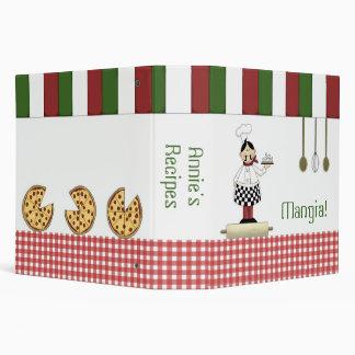 "Italian Recipe 2"" Binder"