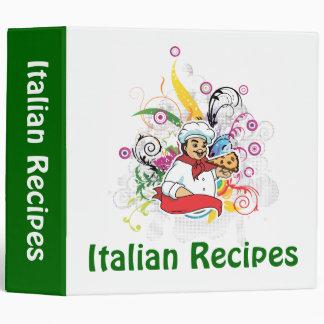 Italian Recipes Binder