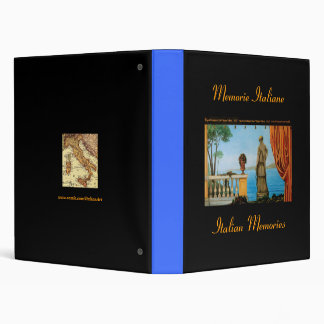 Italian Recipes or Pictures Binder