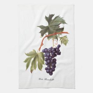 Grape Kitchen Hand Towels Zazzle