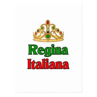 Italian Regina (Italian Queen) Postcard