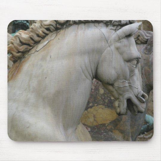 Italian Renaissance Sculpture of a  Horse Mouse Pad