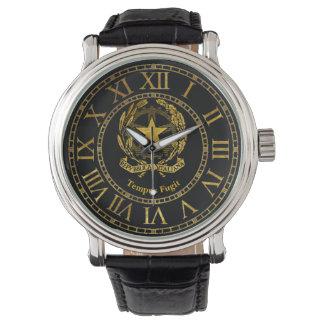 Italian Republic Gold Personalize Wrist Watch
