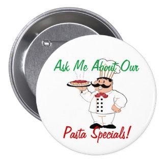 Italian Resturant-Specials 3 Inch Round Button