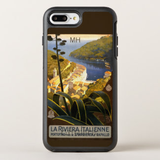 Italian Riviera custom monogram phone cases