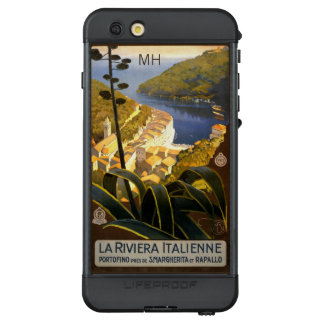 Italian Riviera custom monogram waterproof cases
