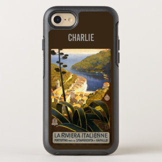 Italian Riviera name phone OtterBox Symmetry iPhone 8/7 Case