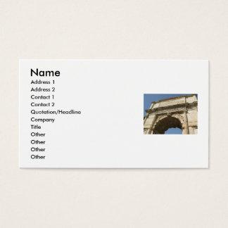 Italian Roman History Business cards
