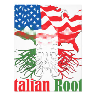 italian roots letterhead