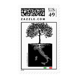 Italian roots stamps
