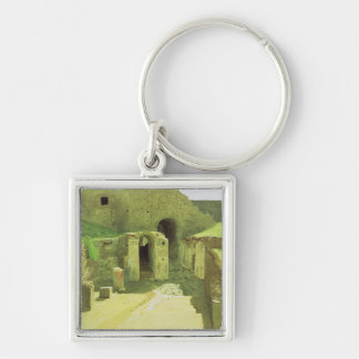 Italian Ruins, 1876 Keychain