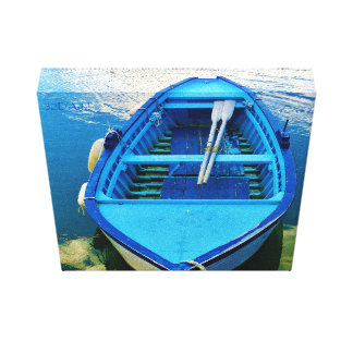 Italian Saltwater Rowboat, Wrapped Canvas Print