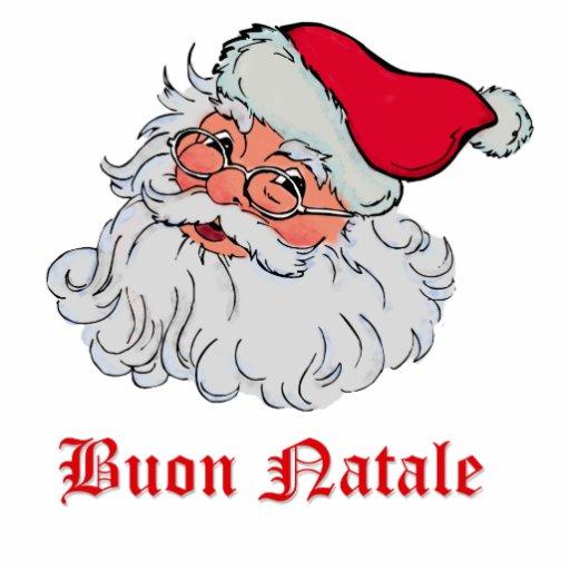 Italian Santa Claus #2 Photo Sculpture Ornament