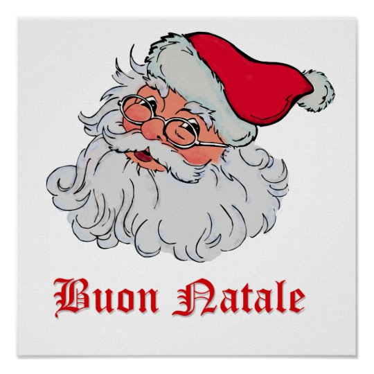 Italian Santa Claus #2 Poster