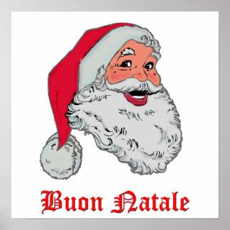 Italian Santa Print