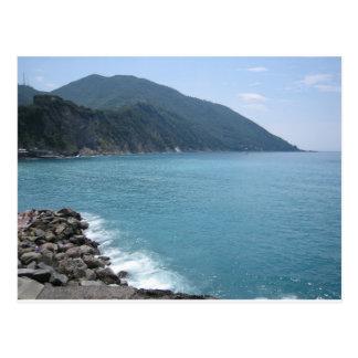 Italian sea postcard