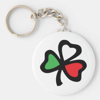 Italian Shamrock keychain