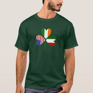 57e7f703 Italian St Patricks Day T-Shirts - T-Shirt Design & Printing | Zazzle