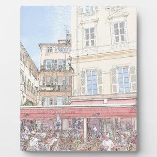 Italian Sidewalk Cafe Plaque