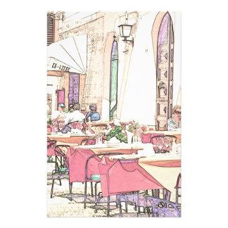Italian Sidewalk Cafe Stationery