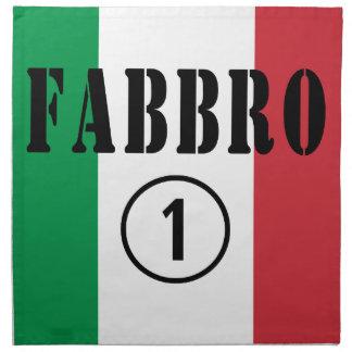 Italian Smiths : Fabbro Numero Uno Napkins