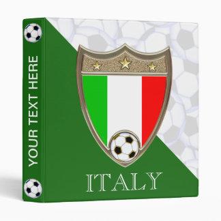 "Italian Soccer 1"" 3 Ring Binder"