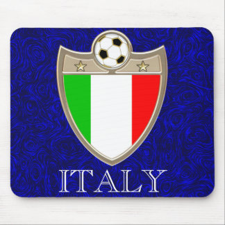 Italian Soccer Mouse Pad